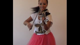 CAN'T STOP THE FEELING!Justin Timberlake  violin cover AgnesViolin