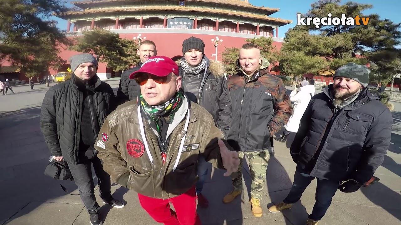 Jurek Owsiak pozdrawia z Chin!