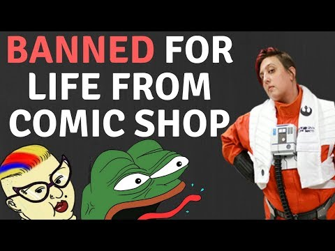 SJW BANS CUSTOMER FOR LIFE FOR WHAT ?!?! (ACTUAL FOOTAGE)