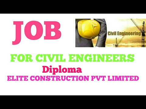 Elite Engineering & Construction Pvt Ltd Hiring Civil Engineers Immediately |Civil engineering Facts