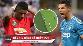 Bản tin Cảm Bóng Đá ngày 25/8 | MU thua sốc, Ronaldo bị VAR từ chối bàn thắng