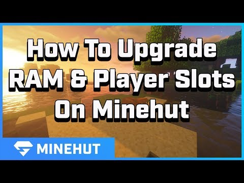 How To Add RAM And Player Slots On Your Server | Minehut 101
