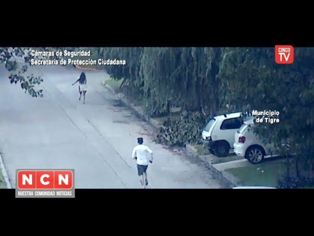 CINCO TV - El COT detuvo a un hombre que golpeaba salvajemente a su pareja en Torcuato