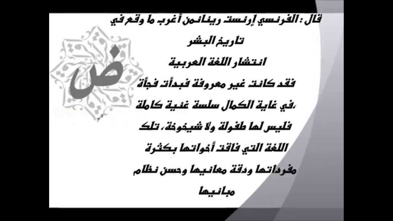 حكم عن اللغة العربية اقوال 12