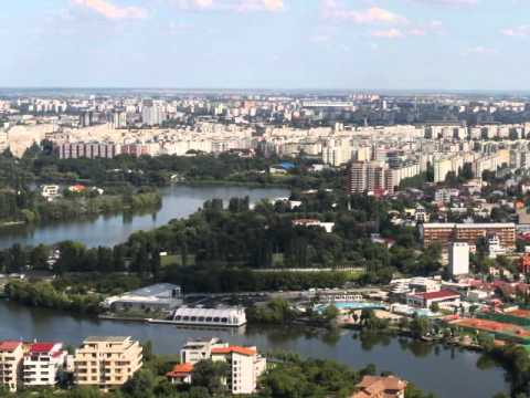 Bucharest-seen from Skytower