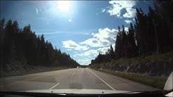 Nice Drive from Calgary to Kelowna