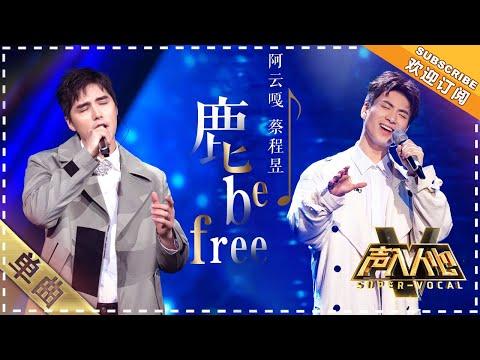 阿云嘎 蔡程昱《鹿 Be Free》:是什么神仙操作,听完感觉要上天 - 单曲纯享《声入人心》 Super-Vocal【歌手官方音乐频道】