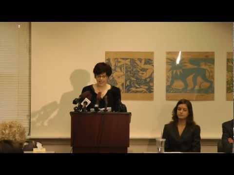 Press Conference About Women's Health Lawsuit Against Rob McKenna