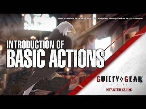 Guilty Gear -Strive- Starter Guide #14 - Basic Actions