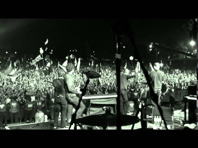 Coldplay at Glastonbury 2005