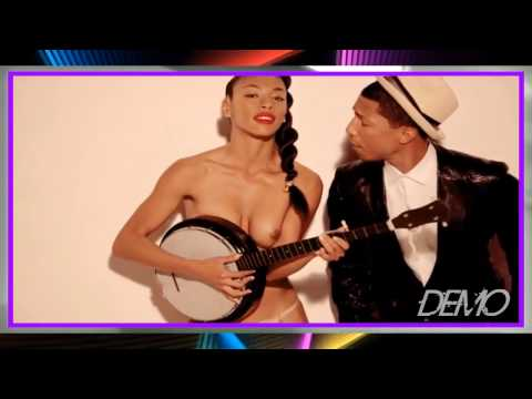 Demo Robin Thicke ft Ti & Pharrel   Blurred lines Intro D'Negro Deejay 2k15 xxx