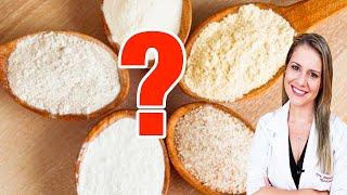 Substitua a farinha de trigo – Veja a melhor farinha para você