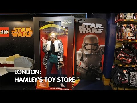 London: Hamley's Toy Store Tour - Regent Street, London
