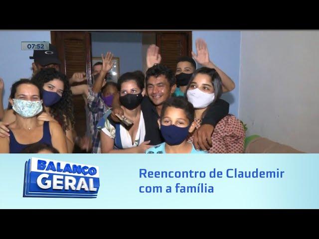 Longa espera: Balanço Geral Alagoas promove reencontro de Claudemir com a família