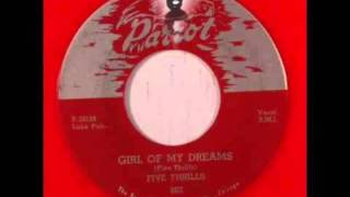 Earls AKA Five Thrills - Darlene (Girl of My Dreams) / Laverne - Parrot 803 - 1954
