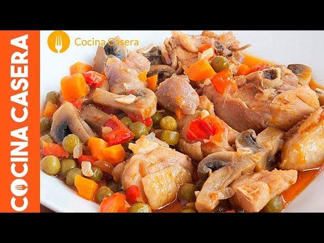 Pollo a la jardinera - Recetas de Cocina
