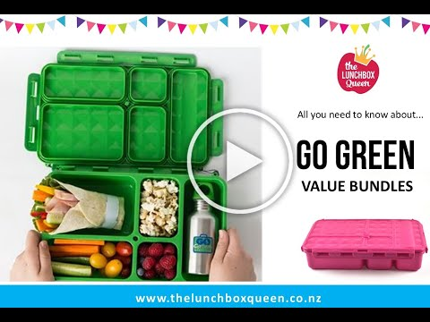 Go Green Lunchbox sets