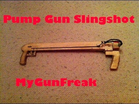 Pump Gun Slingshot Vegetable Mess Joerg Sprave