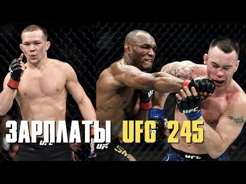 Зарплаты UFC 245, Дана Уайт о следующем сопернике Ковингтона, чемпион UFC отнесет пояс в Белый Дом