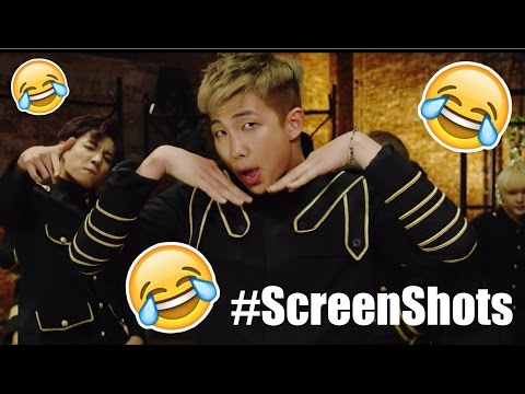 """BTS Dope But Every Time They Say """"Jjeoreo"""" It Takes A Screenshot"""