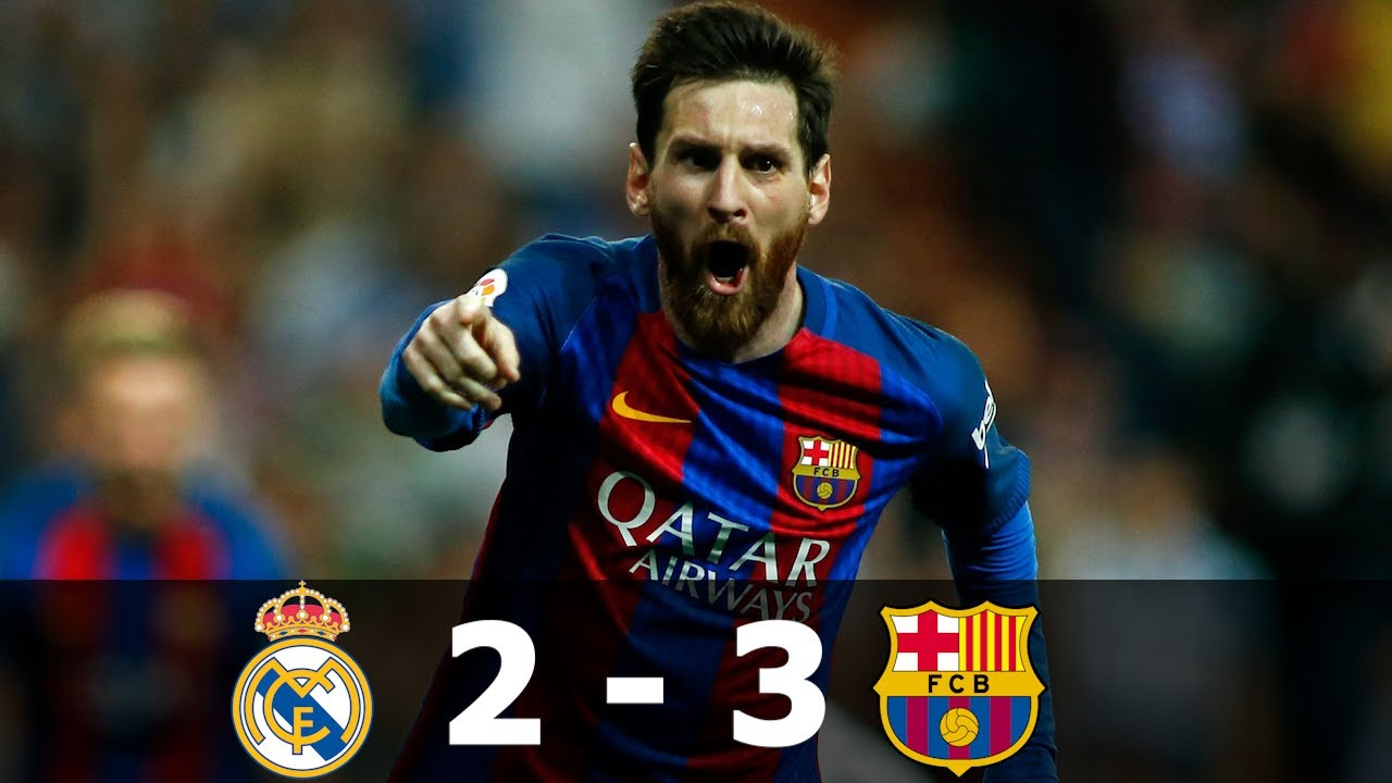 Download Real Madrid vs Barcelona 2-3  â—� Goals & Highlights 2016/2017 â—� Spanish Commentary