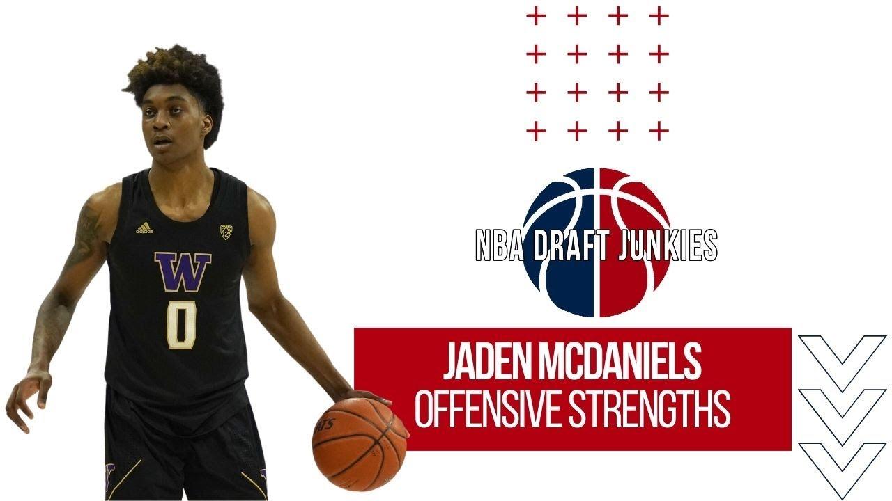 Jaden McDaniels | Offensive Strengths | NBA Draft Junkies 2020 NBA Draft Prospects