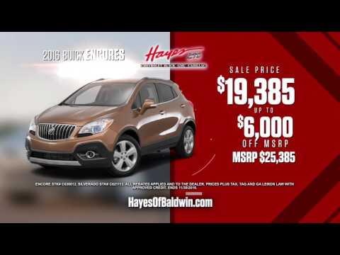Hayes of Baldwin Chevrolet November Sales Event