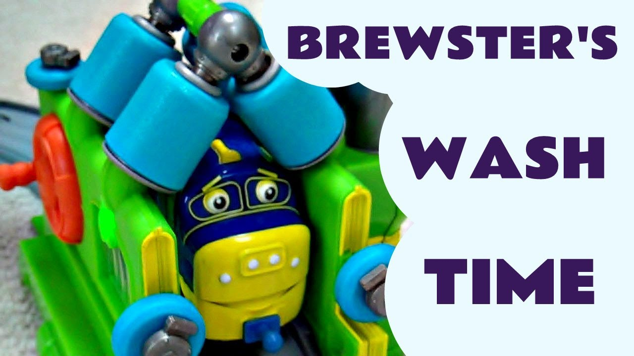 Interactive Chuggington Brewster WASH \u0026 FUEL SET Kids Toy Review Train Set Like Thomas  sc 1 st  YouTube & Interactive Chuggington Brewster WASH \u0026 FUEL SET Kids Toy Review ...