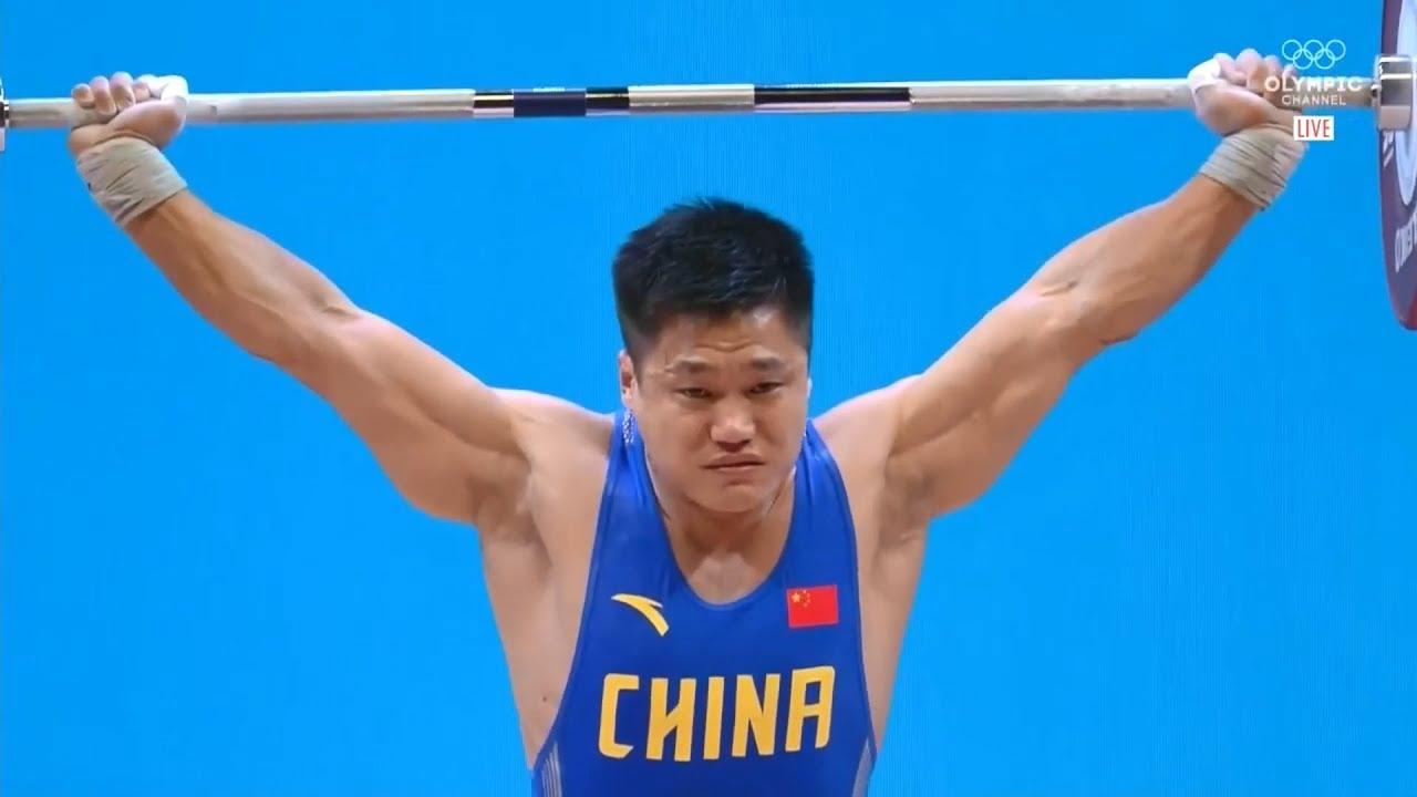 LU Xiaojun - WORLD RECORDS - 2019 World Weightlifting Championships