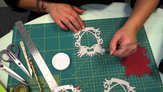 HOW TO DIE CUT THIN DIES TO FAUX CHIPBOARD | EASY BEGINNERS PROJECT