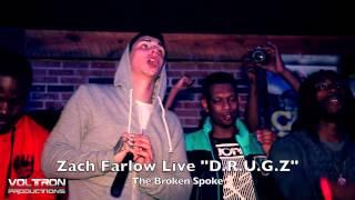 "Zach Farlow Performs ""D.R.U.G.Z."" Live at The Broken Spoke"