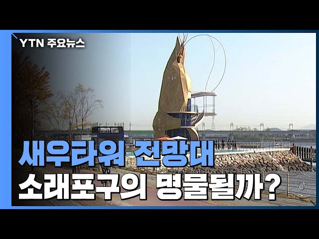 20m 높이 새우타워 전망대, 소래포구의 명물될까? / YTN