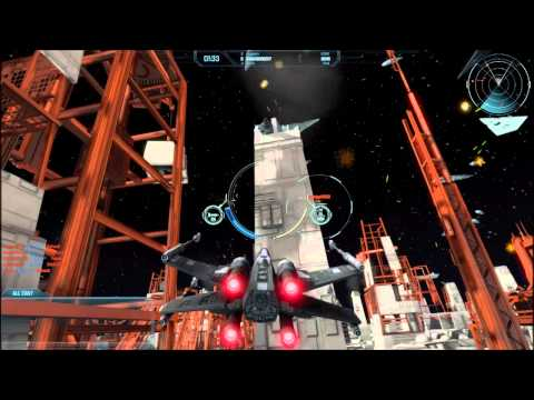 Star Wars - Attack Squadrons Gameplay (Death Star II Dogfight)