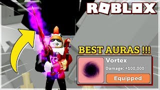 * Update 6 * CHICKEN WARRIOR BUYS THE ULTIMATE AURAS IN WARRIOR SIMULATOR (Roblox)