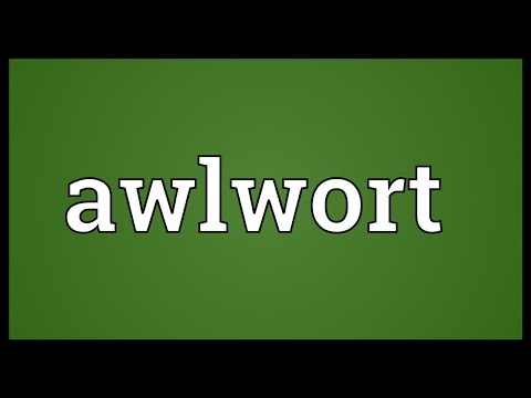 Header of awlwort