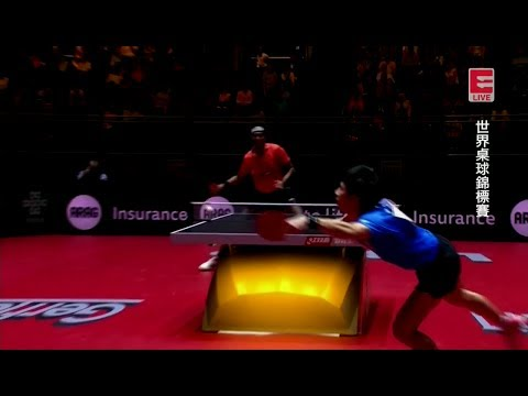 2017 WTTC (MS-R32) LIN Gaoyuan Vs ACHANTA Sharath Kamal [Full Match/Chinese|HD]