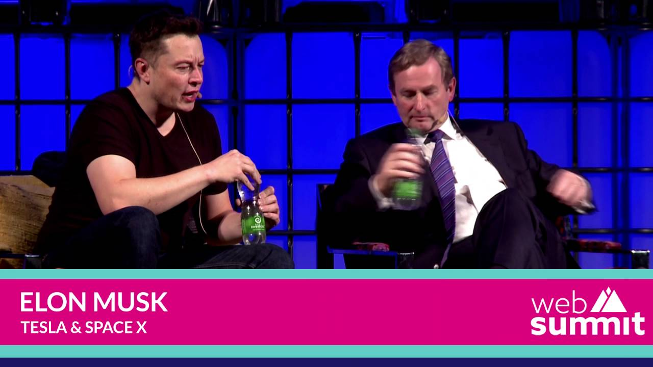 elon musk enda kenny shervin pishevar mark little web summit 2013 youtube
