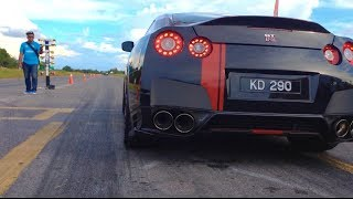 MALAYSIAN DRAG RACING 2013  - 4WD PRO DRAG - MIRI, SARAWAK