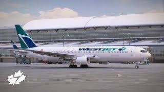 WestJet Boeing 767-300ERW