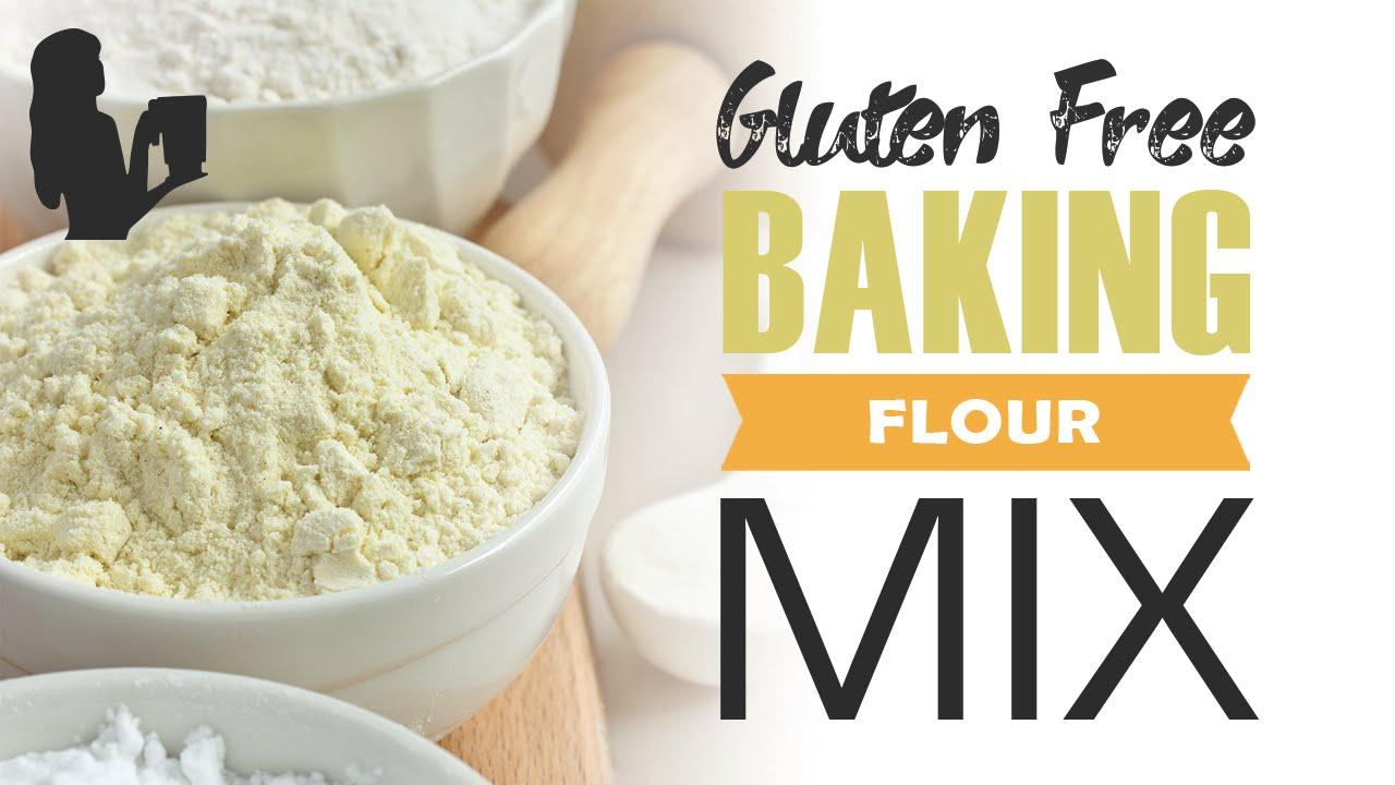Gluten Free Baking Flour mix in a Vitamix, Blendtec Power
