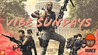 The Division 2 - Vibe Sundays & Raid Carries ... Still Puttin In Work !  🔴 Road To 5k Subs!