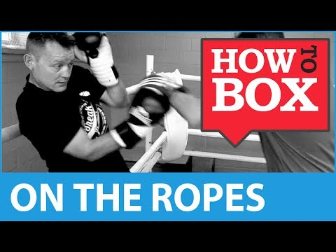 Fighting on the ropes - How to Box (Quick Videos)