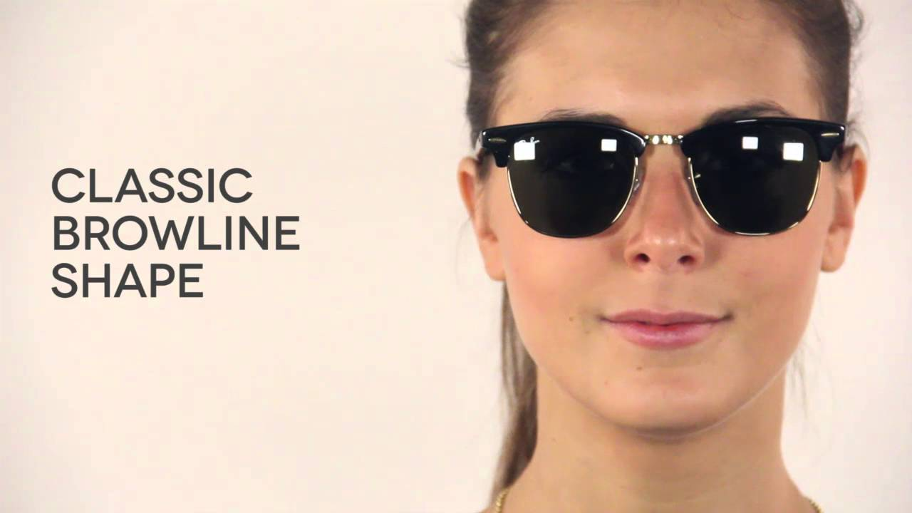 e3b3bb13e2 Ray-Ban RB3016 Clubmaster Classic W0365 Sunglasses Review ...