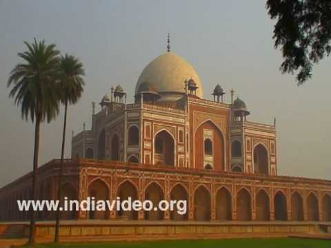 The exteriors of Humayun's Tomb