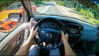 2003 Mazda Tribute [3.0 V6 197 HP] |0-100 | POV Test Drive #892 Joe Black