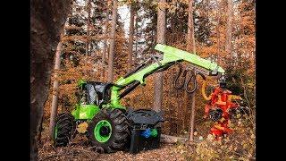 Skidder EQUUS 175N Harvester