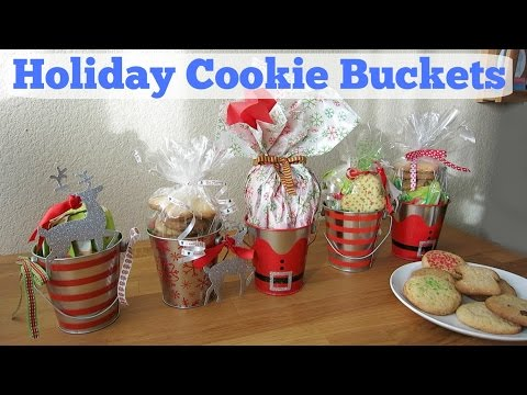 DIY: Holiday Cookie Buckets | Sweet Moments of Mine