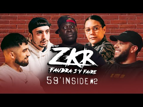 Youtube: 59′ Inside Zkr #2 (avec Narjes Bahhar de Deezer, Colombien de Booska P et Tarek de VentesRap)