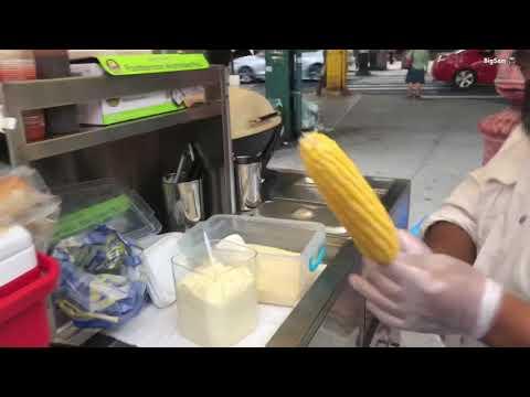 American Street Food Cheese Corn 🌽