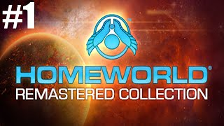 Homeworld Remastered Collection Gameplay Mission/Part 1 Mothership away!